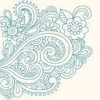 This is so much like mine! :) Love this artists paisley designs!
