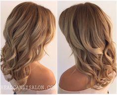 Blonde  Balayage #blondehair #balayage #colormelt