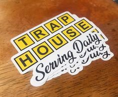 #stickers #coolstickers #traphouse #wafflehouse