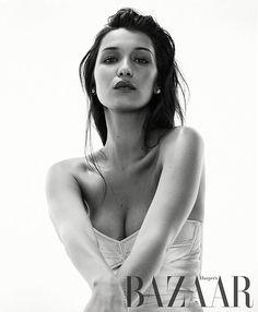 Bella Hadid by Georges Antoni for Harper's Bazaar Australia August 2016
