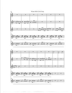 Christmas and Winter Song(Orff and Boom whackers) from All Musical Matters on TeachersNotebook.com (9 pages)