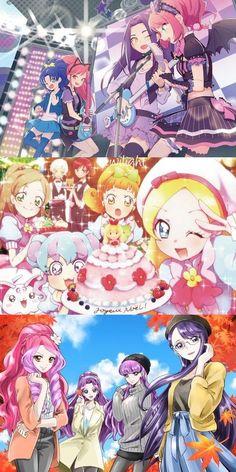 Precure and Aikatsu Stars!