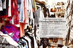 The best strategy to clean out your closet! - Wander Dust Blog