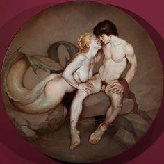Roberto Ferri - Hermaphroditus, and Salmacis.