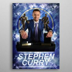Want a metal print copy?: Visit Store Description: Poster of Stephen Curry back. by Dejan M. Stephen Curry, Your Image, Poster Prints, Spiral Notebooks, Portable Battery, Weekender Tote, Yoga Mats, Baby Onesie, Shower Curtains