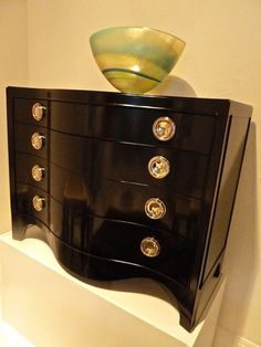 Lexington Furniture Orion Chest in black