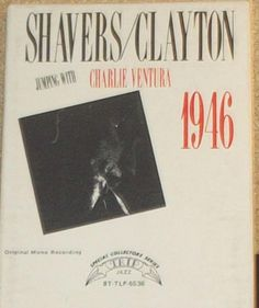 Shavers / Clayton Jumping With Charlie Ventura 1946 Jazz 8 Track Tape by RASVINYL on Etsy