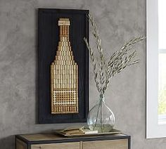Decorative Art & Decorative Artwork | Pottery Barn....could easily make this
