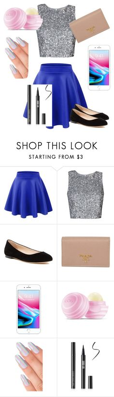 """""""❤️ #1"""" by linasherif ❤ liked on Polyvore featuring beauty, Sergio Rossi, Prada and Eos"""