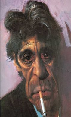 Al Pacino Caricature    Words cannot describe how talented Sebastian Kruger is at drawing caricatures  To view more of Sebastian's breathtaking work please click the link below    Sebastian Kruger