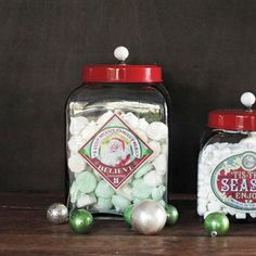 DIY inspiration-Yuletide Magic Container with Lid
