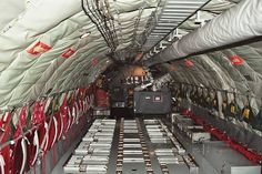 KC-135 Cargo Bay area with Self-contained CPU.