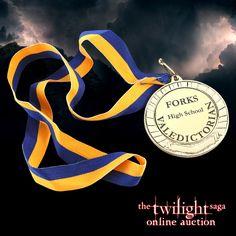 Twilight Online, Prop Store, Valedictorian, Twilight Saga, Forks, High School, Auction, Bobby Pins, Grammar School
