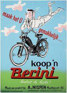 Reclame posters | 1952 | Koop een Berini | Vintageposter.nl | Vintage Posters | Historische Posters | Historical Posters