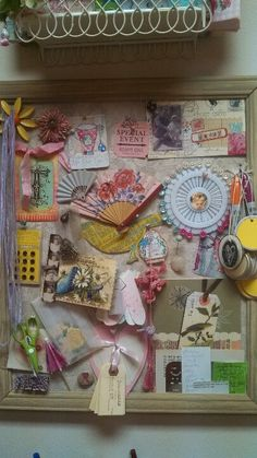 My moms mood board! She is just so creative! Inspiration Boards, Creative Inspiration, Color Inspiration, Craft Room Decor, Sky Design, Fashion Figures, Fashion Collage, So Creative, Craft Corner