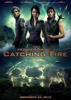 Official Hunger Games Catching Fire Poster
