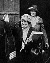 Daisy de Melker after she was found guilty of poisoning her son,Rhodes Cecil Cowle and was sentenced to death