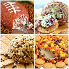 15 Cheese Ball Recipes That Are Crowd Pleasing {AND Easy to Make} 15 Crowd-Pleasing Cheese Ball Recipes for Your Next Party Best Cheese Ball Recipe, Cheese Ball Recipes, Whole Food Recipes, Snack Recipes, Snacks, Great Appetizers, Balls Recipe, Holiday Fun, Tasty