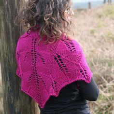 NobleKnits.com - Stolen Stitches Rose Song Chunky Lace Shawl Knitting Pattern, $6.95 (http://www.nobleknits.com/stolen-stitches-rose-song-chunky-lace-shawl-knitting-pattern/)