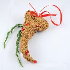 YaU Craciun 2012+inimi vegetale _ christmas heart #christmas #christmasdecor #holiday #candle #christmasdecorations #yauconcept #yau