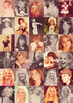 Britney through the years.