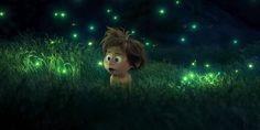 the good dinosaur - Spot and fireflies. http://grown-up-disney-kid.tumblr.com/post/133815992054/the-good-dinosaur-opens-for-thanksgiving