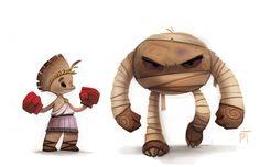 Les illustrations de Pokemon par Piper Thibodeau