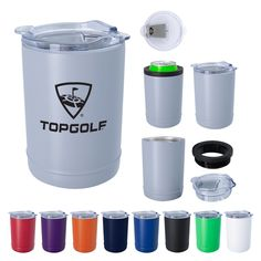 Keep your brand in your customers hand with our copper insulated beverage holder and tumbler. Custom Travel Mugs, Advertising Tools, Insulated Mugs, Company Gifts, Promotional Giveaways, Thing 1, Drink Holder, Quality Logo Products, Custom Tumblers
