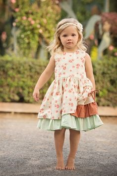 da87161dc11d Persnickety Clothing - Ellie Dress  ruffles  girls  kids  clothes  fashion