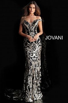 Jovani Prom 63349 We feature this collection in our prom dress store in Orlando. Off the Shoulder Sequin Prom Dress 63349 Prom Dresses Jovani, Mermaid Prom Dresses, Pageant Dresses, Homecoming Dresses, Evening Dresses, Formal Evening Gowns, Off Shoulder Evening Dress, Off Shoulder Gown, Shoulder Straps