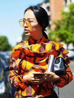 Summer Outfit Ideas: 13 Sartorial Moves Cool Girls Are Making via @WhoWhatWearUK