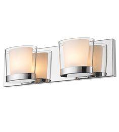 Golden Lighting Vanora 2 Light Bath Vanity in Chrome 3030-BA2-CH #lightingnewyork #lny #lighting