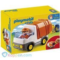 PLAYMOBIL 6774 1.2.3 Vuilniswagen - Koppen.com PLAYMOBIL 6774 1.2.3 Vuilniswagen. Haal al het vuil op in de stad met de vuilniswagen. Leeftijd vanaf 1,5 jaar. - See more at: http://www.koppen.com/producten/product/playmobil-6774-123-vuilniswagen#sthash.IIiNjdP3.dpuf