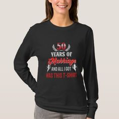 Great Costume For 50th Anniversary. T-Shirt - anniversary cyo diy gift idea presents party celebration