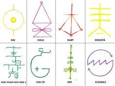 Wicca, Simbolos Do Reiki, Healing Codes, Symbols And Meanings, Usui, Reiki Energy, Astrology, Spirituality, Peace