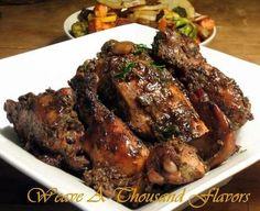 Oven Baked Caribbean Jerk Chicken