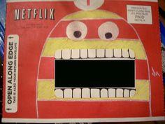 Netflix Envelope Doodle by {heart}