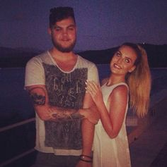 Perrie and her brother