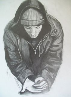DeviantArt: More Like Eminem by Eminem Drawing, Eminem Wallpapers, Eminem Rap, Eminem Memes, Cute Pastel Wallpaper, Eminem Photos, The Real Slim Shady, Eminem Slim Shady, Girl Artist