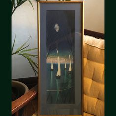 """Pam Hein on Instagram: """"Mid-century classic painting on velvet coming to the store this week! #velvetpainting #midcentury #boatsonwater #midcenturyart #kitschart…"""" Neighborhood Garage Sale, Kitsch Art, Velvet Painting, Classic Paintings, Mid Century Art, Candle Sconces, Original Art, Wall Lights, Store"""