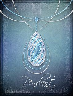 deviantart rittik designs magic staffs   Pendant - Commission by Rittik