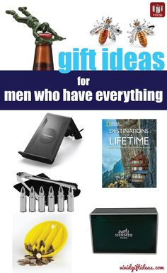 Gifts For Men Who Have Everything Unique Cool