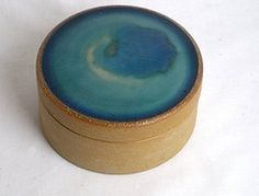 Stoneware lidded box by L Hjorth (twenty21) Tags: denmark danish pottery stoneware