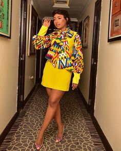 Belinda Effah- Simple But Party Worthy Unique Outfits, Classy Outfits, Casual Outfits, Instagram Outfits, Instagram Fashion, African Style, African Fashion, Diva Fashion, Fashion Looks