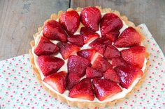 Strawberry & Honey Tart