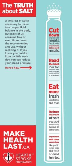March 11-17 is World Salt Awareness Week. Making small changes like can help lower your sodium intake and Make Health Last