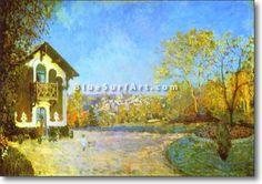 Louveciennes - £124.99 : Canvas Art, Oil Painting Reproduction, Art Commission, Pop Art, Canvas Painting