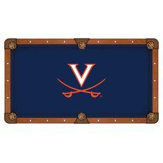 Virginia Cavaliers Pool Table Cloth