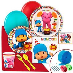 NEW Pocoyo Value Party Pack