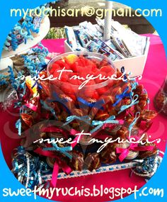 Fiesta Frozen, candy bar, mesa dulces, mesa dulces y postres, fiesta infantil, sweetmyruchis.blogspot.com